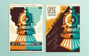 Love Has A Many-Splendoured Thing! Poster Design by soulfinder90