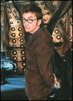 The 10th Doctor-caldwellart by GhostRider2007