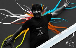 Dinesh and Colors by logonsuresh