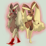 Cute Vs. Creep: #428 Lopunny by Yufika