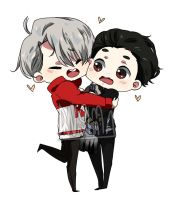 Image result for Yuri x victor fanart