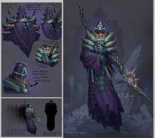 Runescape god - Zaros by TinySecretDoor