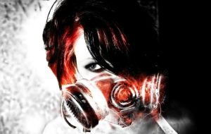 gas mask. by xAcention