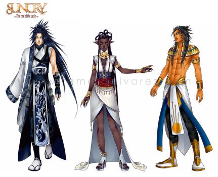 SUNCRY: Masters sheet by Noiry