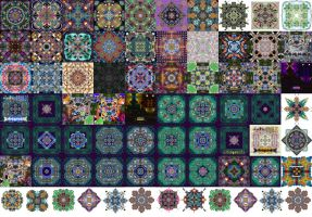 fractal tiles by chelox