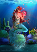 The Lonely Mermaid by SweetLittleVampire
