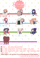 LoveLive! Acrylic Keychain Open Preorders by s-p-ri-ng