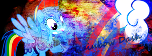 Rainbow dash Banner FB by BronyXceed