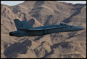 Nellis Hornet by AirshowDave