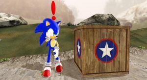 (MMD): Wood Box From SA2+ DL by Modern-Sonic