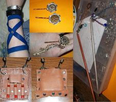 Collage of Handmade Trinkets by Ceraine