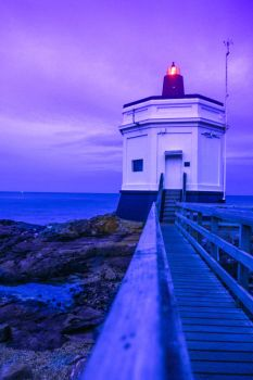 Blue Light by LeeAnnGlenn