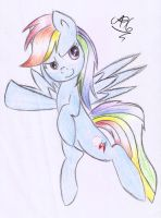 Rainbow Dash by asluc96