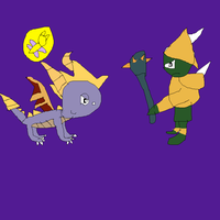 Spyro vs Gnasty Gnorc by SuperSmashCynderLum