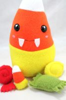 Candy Corn Plush by BeeZee-Art