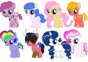 Pinkie shipping egg adopts hatched by Deep-Fried-Love