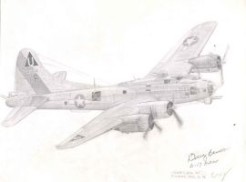 B-17G Flying Fortress by Raptorguy