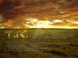 Fading Summer CD Cover - Back by Enlal