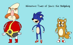 Adventure Times of Sonic by TDRloid