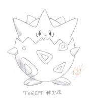 Pokemon Togepi by Zuhari
