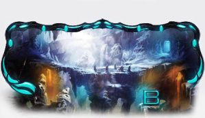 The Ice Cave by lBattata