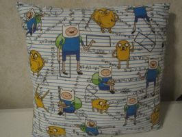 Adventure Time Finn and Jake Math Pillow by colbyjackchz