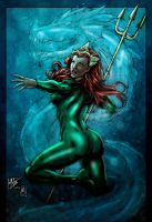Queen Mera (colors) by FantasticMystery
