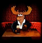 Moose Juice Wine by CoryWayDesign