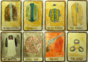 Supernatural Tarot Cards by eggsnyost