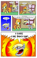 A Derpy Love Story page 4 by JoeyWaggoner