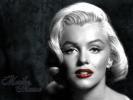 Marilyn Monroe 1600 x 1200 by Mavist0