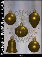 Xmas Baubles 013 by poserfan-stock