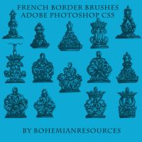 French Border Brushes by BohemianResources