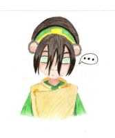 Toph - Coloring Sample by MagicKnightNova