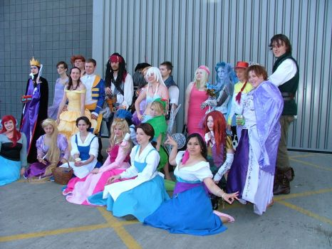 MCM Expo: Disney group by LabyrinthLadyLover