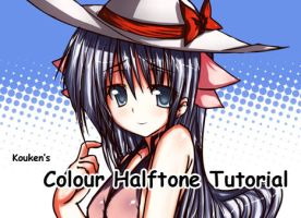 Colour Halftone Tutorial by Kouken