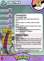 #487 Giratina by PokemonCMG