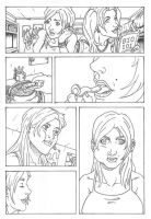 Berry Girl Comic Inks Page 1 by jetpants
