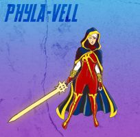 Day 5 - Phyla-Vell (Quasar) by gadgetwk