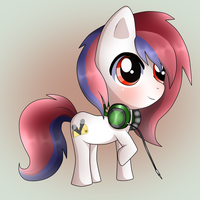 Pony Chibi Request from Rezu1i by Naruto-Cupcakes