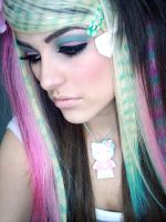 Colorful Scene Hair 5 by Misskylakandy