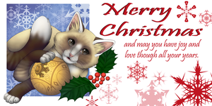 Merry Christmas by Hawksfeathers97