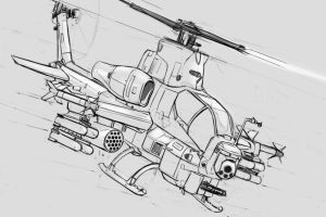 helicopter_study_01 by ksenolog