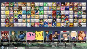 SUPER SMASH BROS. FOR PC - Hidden Fighters 1 by MachRiderZ