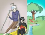 Robin and Jack Frost by Saegigmon