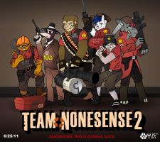 Team Nonesense 2 by wolfjedisamuel