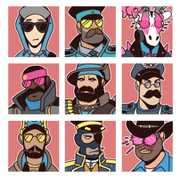 TF2 Loadouts (BLU) by KingTheory