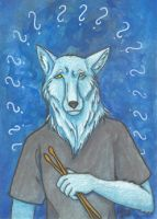 ACEO - Uncertain Jase by Catamount