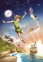 Peter Pan-cover by roby-boh