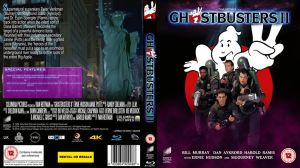 Ghostbusters II 25th Anniversay Blu Ray cover by BrotherTutBar